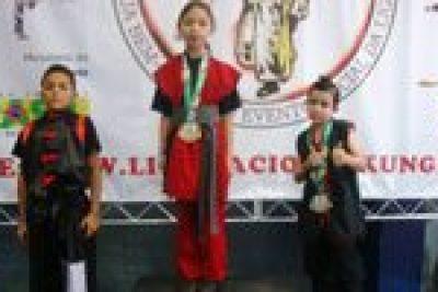 Nogueirenses conquistam medalhas no Kung Fu