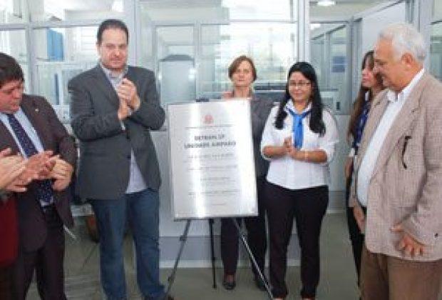 Detran.SP inaugura nova unidade em Amparo