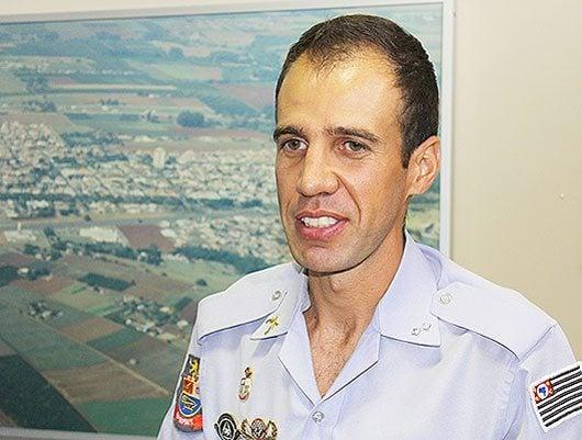 Tenente Alcântara assumiu o comando da Polícia Militar neste mês