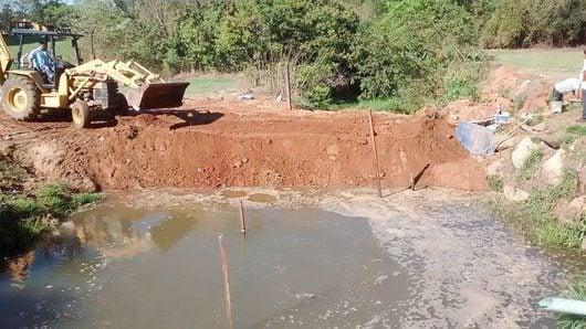 Chuvas fizeram que os níveis de dos Córregos do Barreiro e do Benfica se elevassem em 60%