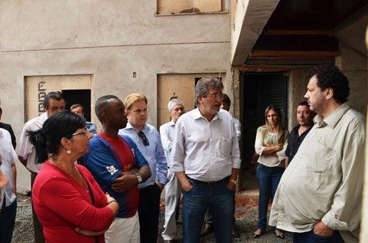 Aproveitando a iniciativa da empresa, o prefeito José Natalino Paganini esteve na manhã desta sexta-feira no local