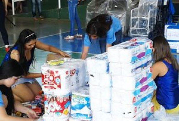Estudantes arrecadam cerca de R$ 20 mil em doações