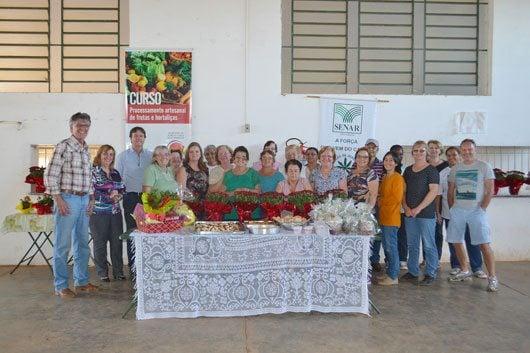 O curso realizado em parceria com o SENAR (Serviço Nacional de Aprendizado Rural), Sindicato Rural de Campinas