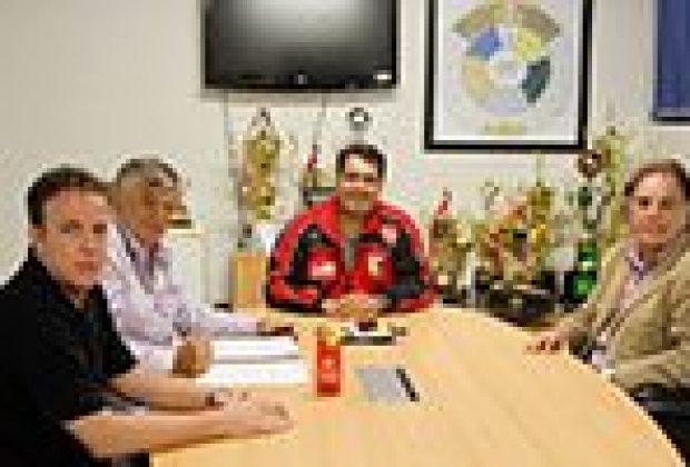 Favoretto reúne-se com o secretário de Estado de Esporte