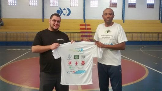 Outra novidade neste ano na Copa Interclube de Futsal é que a organização está premiando com três camisetas cada clube participante