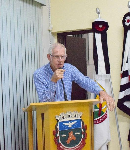 Pedro Weel agradeceu a aprovação da emenda que permitiu seu afastamento e mostrou-se confiante em uma breve recuperação