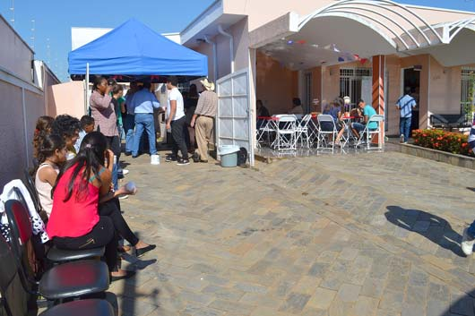 """A inauguração da nova sede aconteceu na sexta-feira (24) com o tema """"Festa Julina"""", para funcionários, pacientes, familiares e autoridades locais"""
