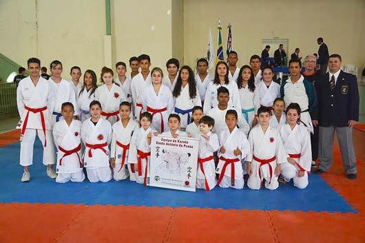 Os atletas da equipe KaratePosse obtiveram bons resultados no torneio