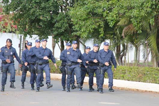 Oito guardas municipais passaram por treinamento tático para atuar no combate ostensivo ao crime \ Foto: Marlene do Carmo