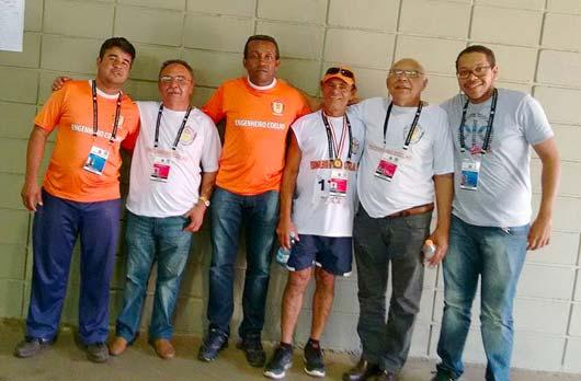 Equipe é formada pelos senhores Sebastião Maurício da Silva (Sebá) e Luiz Correa da Silva (S. Luiz)