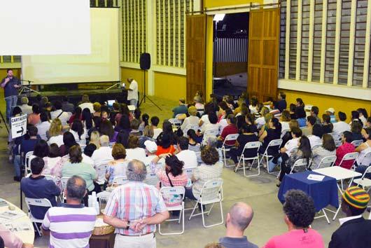 População elogiou apresentação da segunda-feira (31/8)