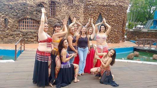 Todas as dançarinas receberam os parabéns do júri do Mapa Cultural Paulista \ Foto: Assessoria