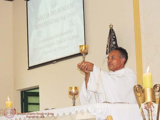 As missas serão celebradas pelo padre José Siqueira Barbosa