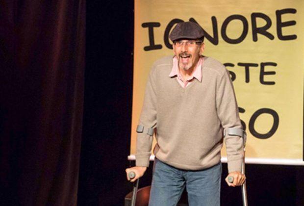 Teatro narra história real de ator com esclerose múltipla