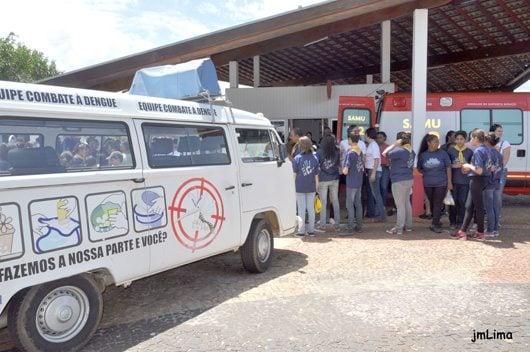 A boa situação do município, até o momento, se deve às ações integradas entre as equipes de Vigilância Epidemiológica