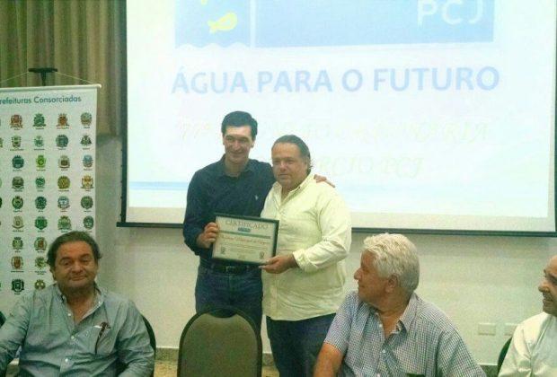 PCJ homenageou a cidade de Amparo por ações no Município Verde Azul