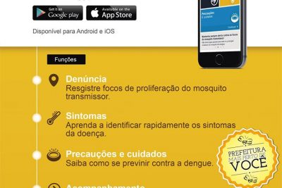 Software auxilia no combate à dengue em Posse