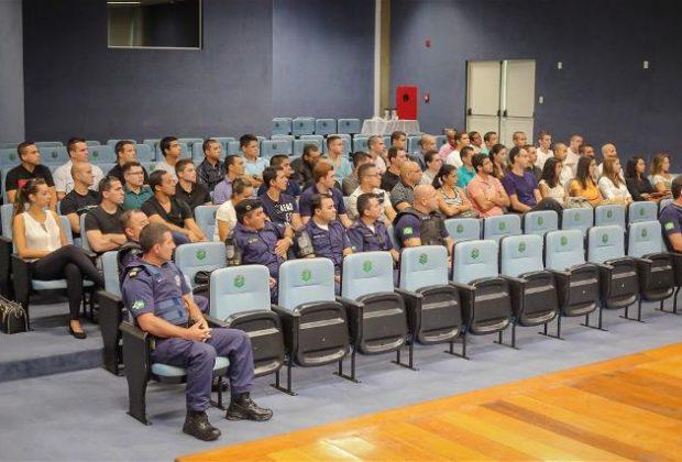 Candidatos a Guarda Municipal de Paulínia iniciam Programa de Formação