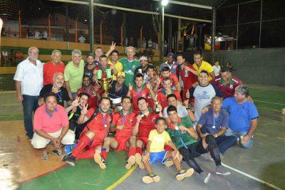 Sociedade Esportiva Jardim Triunfo é a campeã do Torneio Santa Clara de Futsal