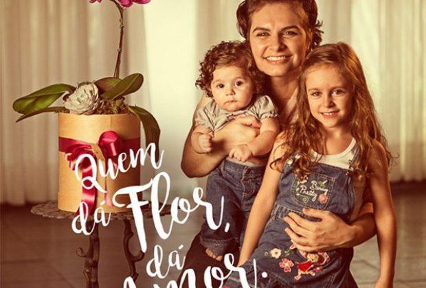 Campanha do Dia das Mães comprova a emoção ao se receber flores