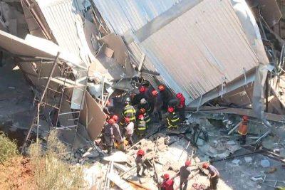 Desabamento em obra faz seis vítimas em São Paulo
