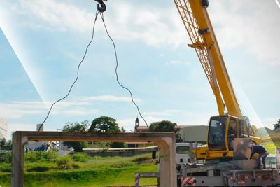 Começadas as obras contra enchentes no Vila Nova, em Amparo
