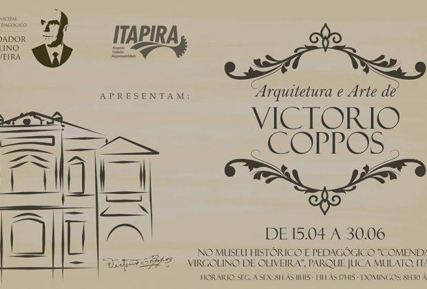 Itapira: exposição sobre arquitetura de Victório Coppos abre na sexta