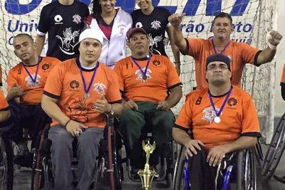 Campeonato Paulista de Handebol em Cadeira de Rodas acontece sábado na Posse