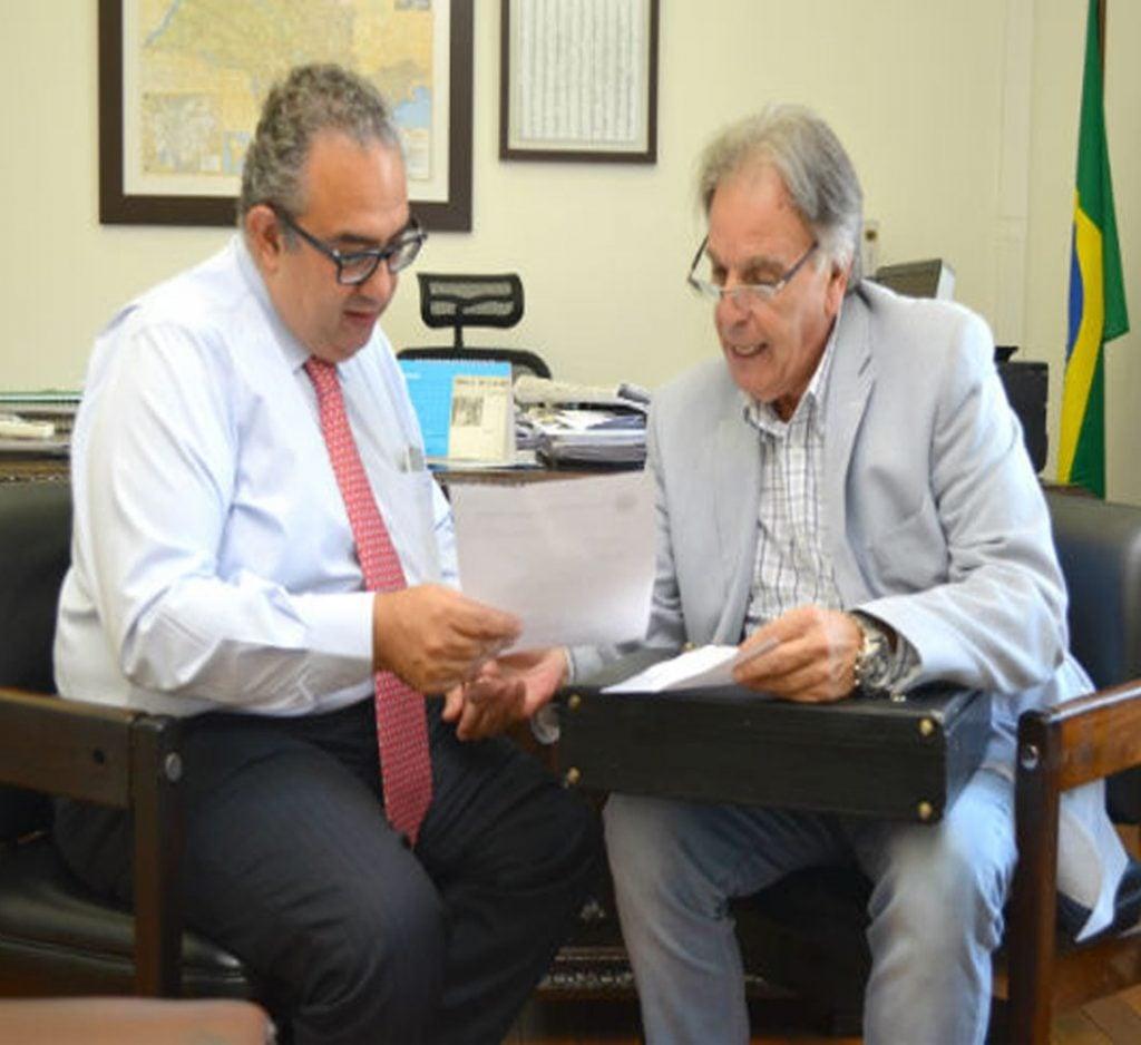 Assunto foi tratado numa reunião entre o secretário-adjunto Rubens Naman Rizek Junior e o assessor parlamentar Hugo Berti.