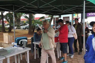Artur Nogueira atinge quase 50% de vacinação contra H1N1 no dia D da campanha