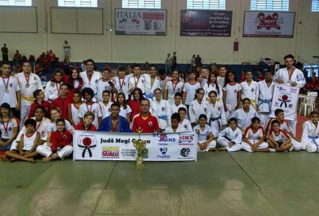 Judô de Mogi Guaçu fica em 7º colocação em Jarinú