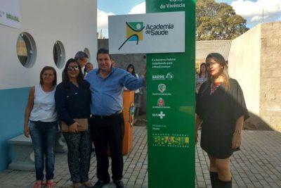 Academias ao ar livre são inauguradas em Posse