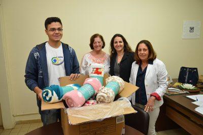 Promoção Social recebe doação de cobertores