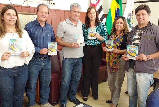 """Projeto """"Turismônica"""" passa a fazer parte da Rede Municipal de Ensino de Pedreira"""