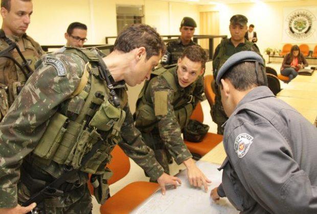 Exército realiza simulado em Paulínia para segurança das Olimpíadas