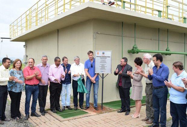 Nova etapa no saneamento de Holambra foi inaugurada no sábado, dia 7
