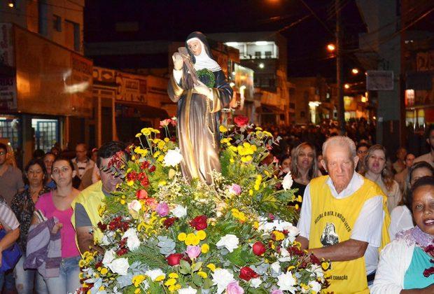 Procissão de Santa Rita será realizada no domingo, 22 de maio