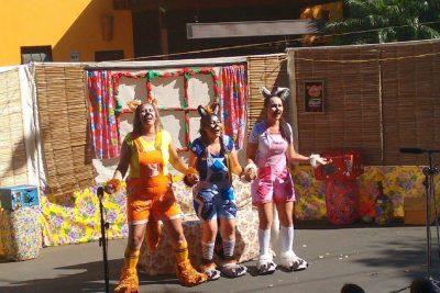 Domingo tem teatro infantil na Praça Pádua Salles, em Amparo