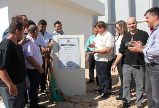 Prefeitura inaugura 1ª Estação de Tratamento de Esgoto em Artur Nogueira