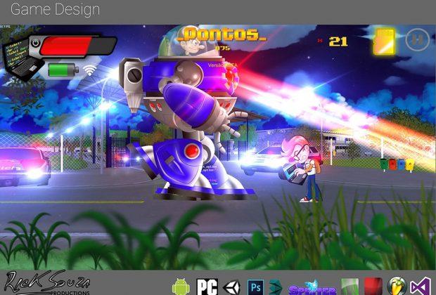 Aluno de Ciência da Computação cria game interativo usando a FAJ como ambientação