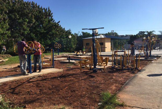 Prefeitura de Pedreira instala nova Academia ao Ar Livre