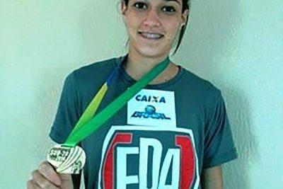 Thainá Fernandes conquista Medalha de Bronze no Campeonato Brasileiro Interseleções