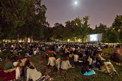 "Neste sábado, dia 4, haverá ""Cinema no Ar"" no parque do Ingás"