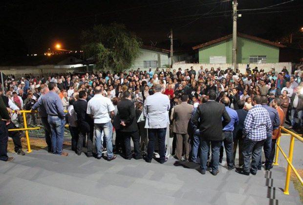 Centenas de nogueirenses prestigiam a inauguração do Ginásio de Esportes do Itamaraty