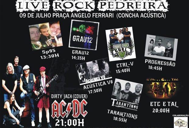 """Bandas confirmam presença no """"Live Rock Pedreira"""""""