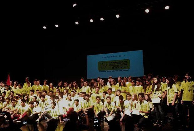 Classificados de 2015 na OBMEP receberam premiação em Indaiatuba neste mês
