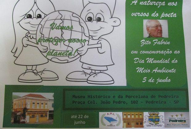 Museus de Pedreira dão destaque as poesias de Zito Fabrin