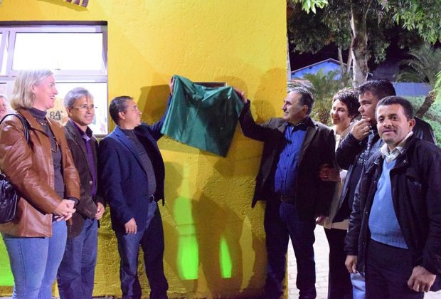 Vereadores participam de inaugurações na Nossa Prainha em Holambra