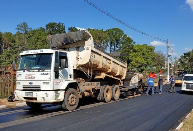 Prefeitura inicia investimento de R$ 1 mi em recapeamento asfáltico