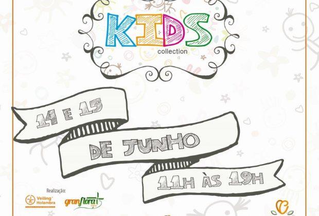 Mostra Kids Collection acontece nos dias 14 e 15 de junho no Gran Flora